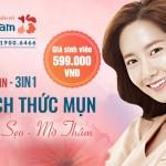 """""""THÁCH THỨC"""" MỤN CHỈ 599K VỚI CÔNG NGHỆ NANO SKIN 3 TRONG 1"""