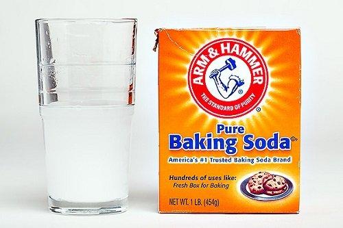 trị mụn bọc bằng baking soda 1