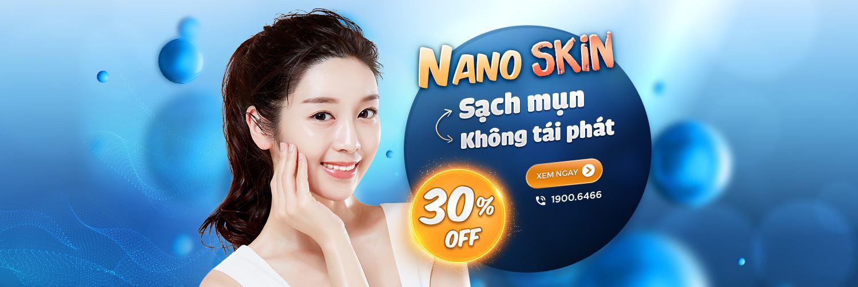 Nano SKin trị sạch mụn chỉ sau 1 liệu trình